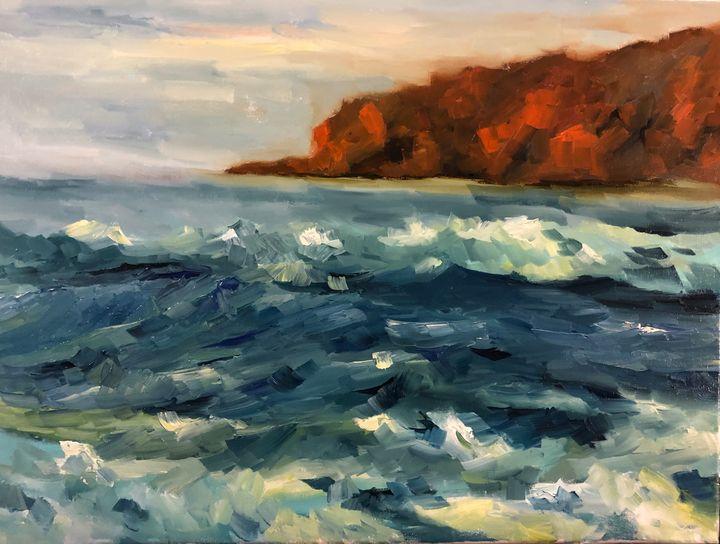Muir waves - Ramya Oil Paintings