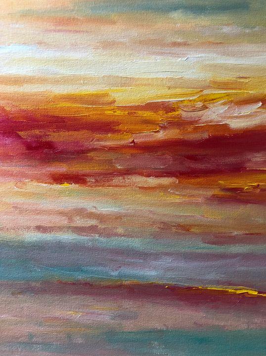 Sunny Path - Ramya Oil Paintings
