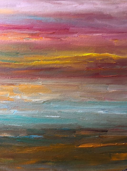 Joyful path - Ramya Oil Paintings