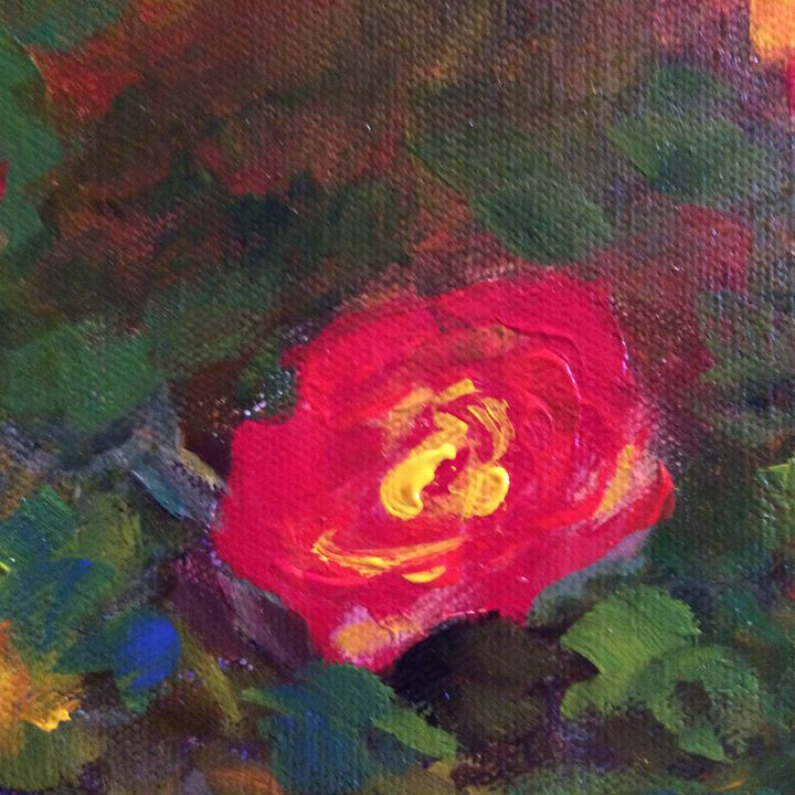 Rose 3 - Ramya Oil Paintings
