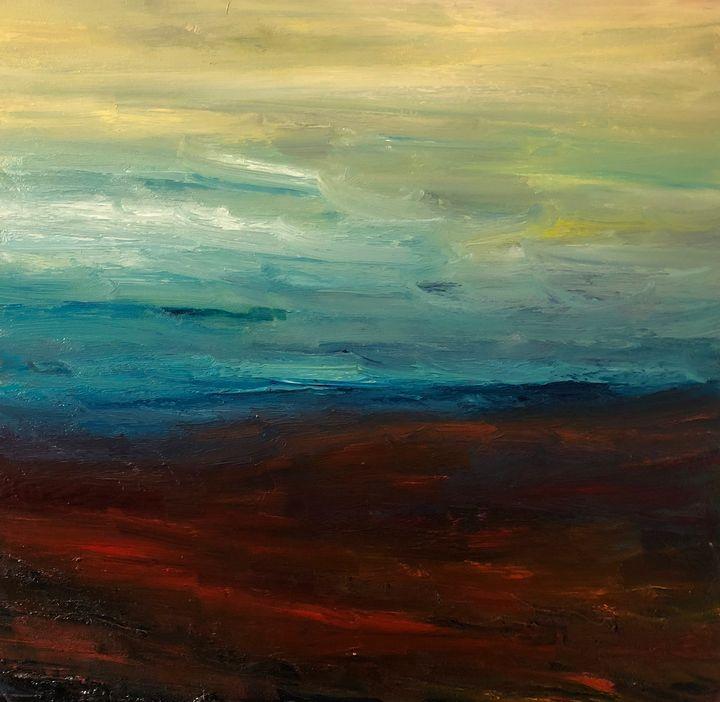 Horizon - Ramya Oil Paintings