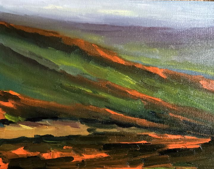Antelope valley - Ramya Oil Paintings