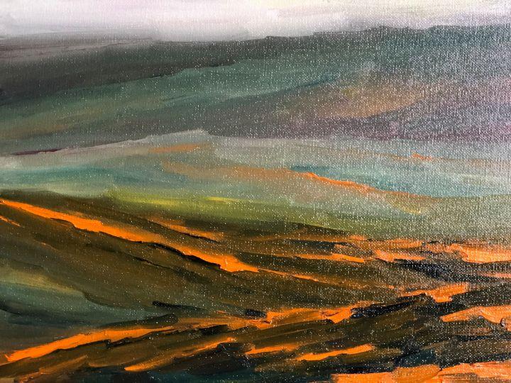 Antelope Valley Poppies - Ramya Oil Paintings