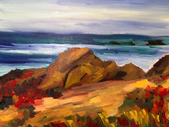 Carmel close up - Ramya Oil Paintings