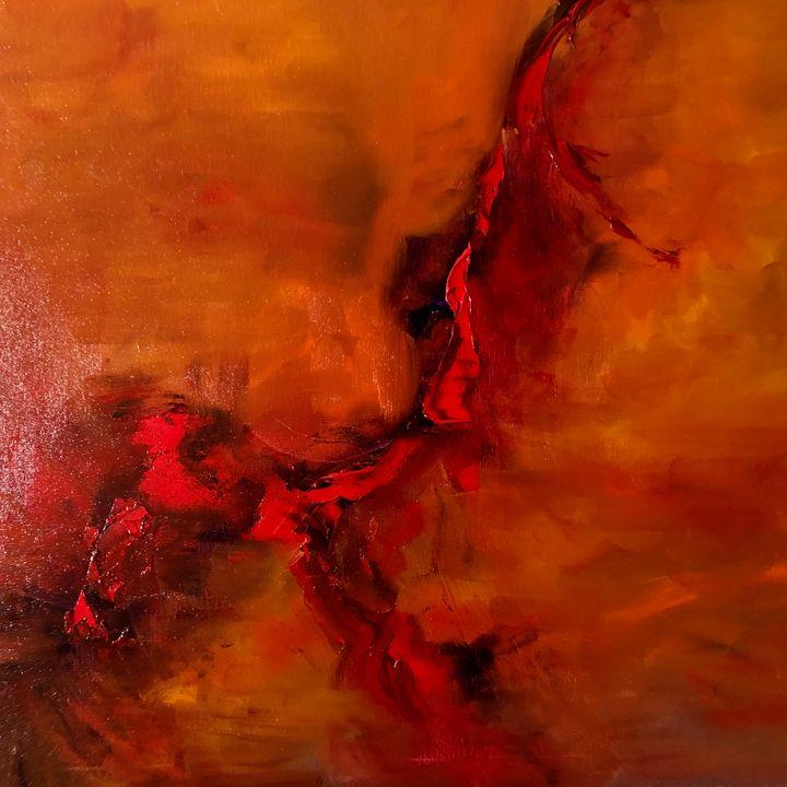 Flights of fantasy - Ramya Oil Paintings
