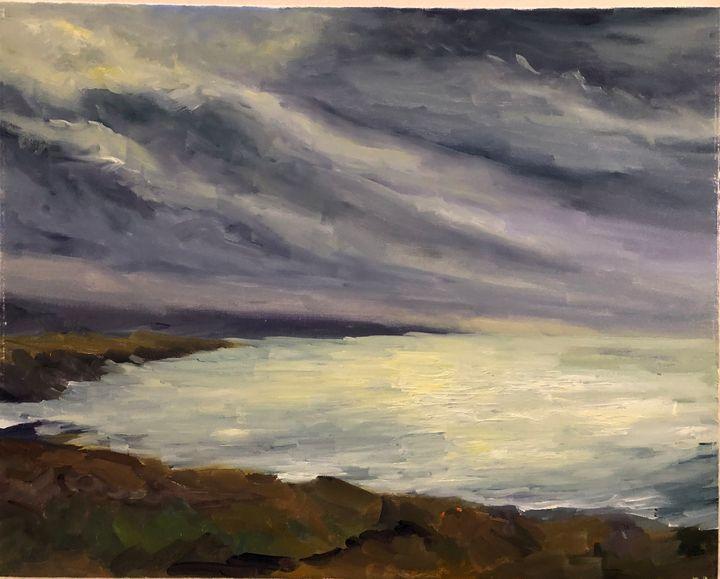Storm is coming - Ramya Oil Paintings