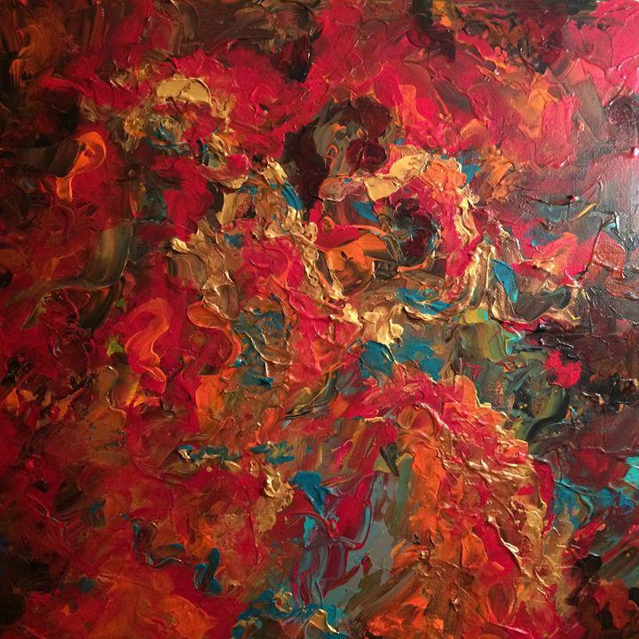 Bejeweled - Ramya Oil Paintings