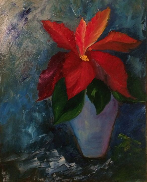 Christmas Glory - Ramya Oil Paintings