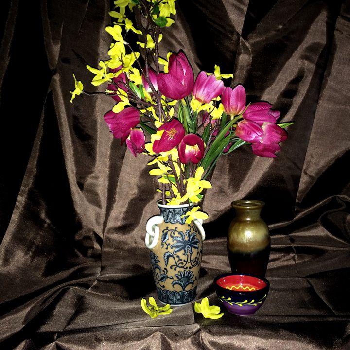 Tulips - Ramya Oil Paintings