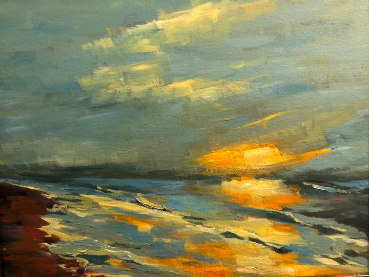 Early morning - Ramya Oil Paintings