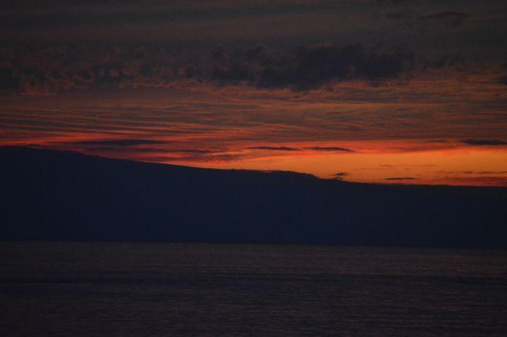 Sunset - Going Home @Lahaina - Ramya Oil Paintings