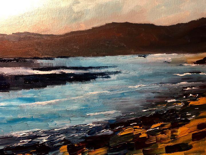 Placid waters - Ramya Oil Paintings