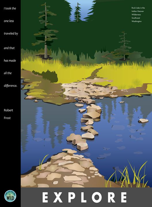 Explore - Rock Lake - Christine Rains