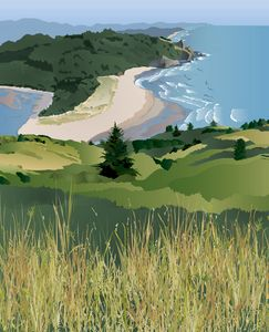 Cascade Head, along the Oregon coast