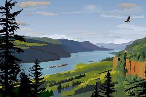 Columbia River Gorge - Christine Rains