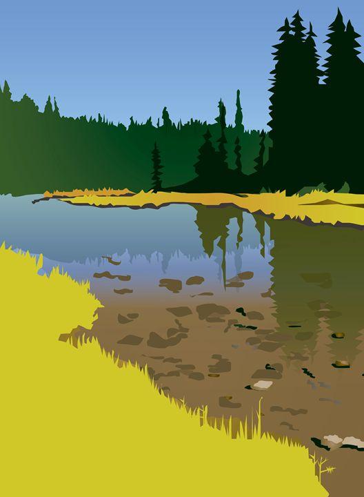 Junction Lake, no quotes - Christine Rains