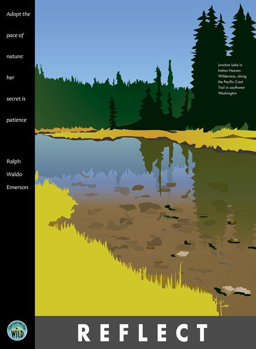 Reflect - Junction Lake - Christine Rains