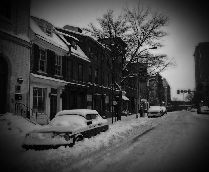 Snow in Olde City - Edgar Vilhelm