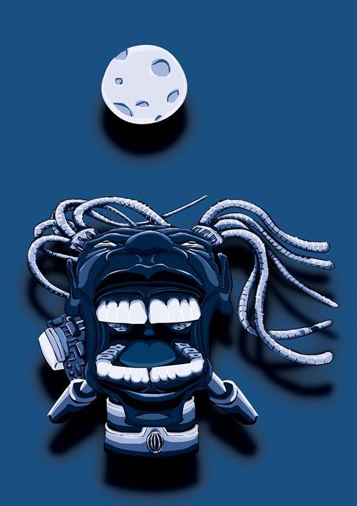 Scream Cyber (Blue) - Tarso Galvão
