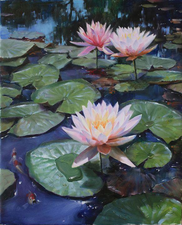 Symbolic of pureness lots flower - Matviienko Dmytro Volodimyrovich