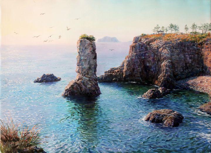 Beautiful sea like sparkling gem - Matviienko Dmytro Volodimyrovich