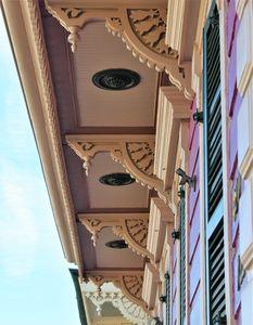 Details architectural French Corner