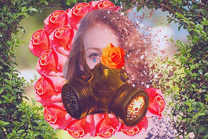Mask girl - R.artwork
