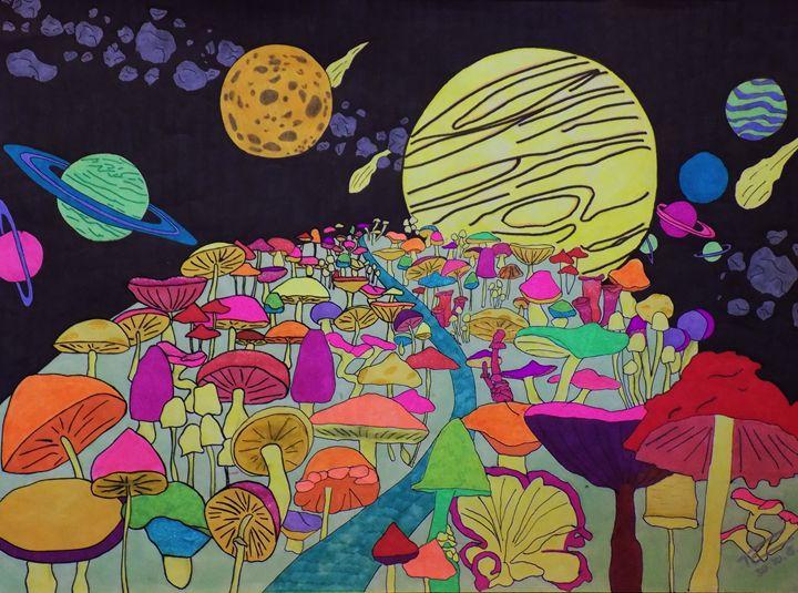 Mushroom Way - Amy Barth