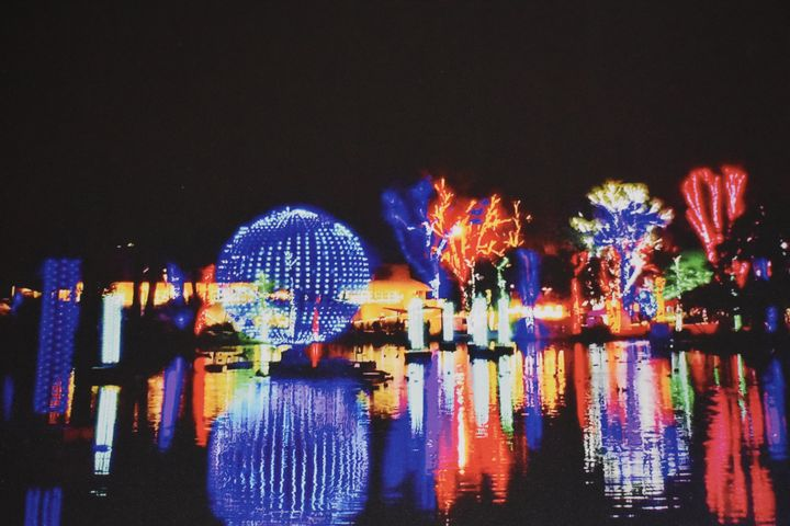 Zoo Lights - Imagination Artwork by Alex Howell