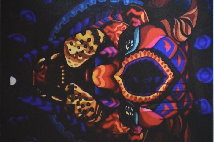 Graffiti Jaguar - Imagination Artwork by Alex Howell