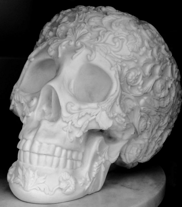 Mexican Skull - Imagination Artwork by Alex Howell