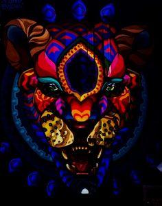 Graffiti Jaguar (Print)