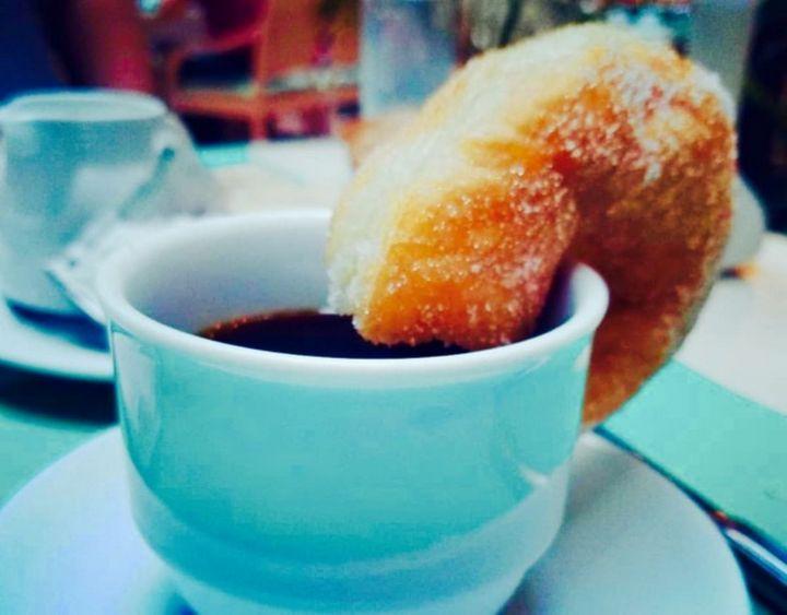 Coffee & Donut - Imagination Artwork by Alex Howell