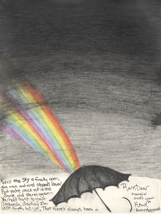 Rainbow Over Your Head - Imagination Artwork by Alex Howell