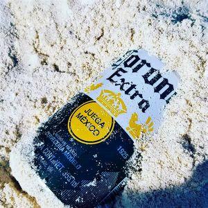 Corona in the Sand