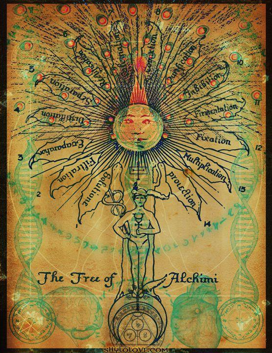 Tree of Alchimi - Shylo Love