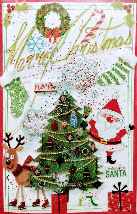 Custom Christmas cardz - The 6th Dimension