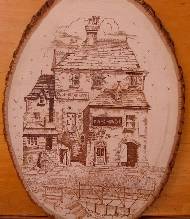 """RIVER HOUSE"" - ENGRAVERBOB"