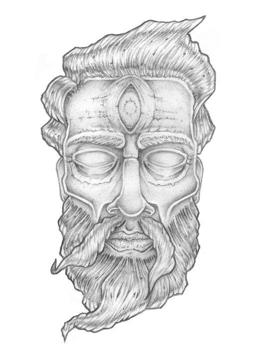 Greek God - VuduuPrints