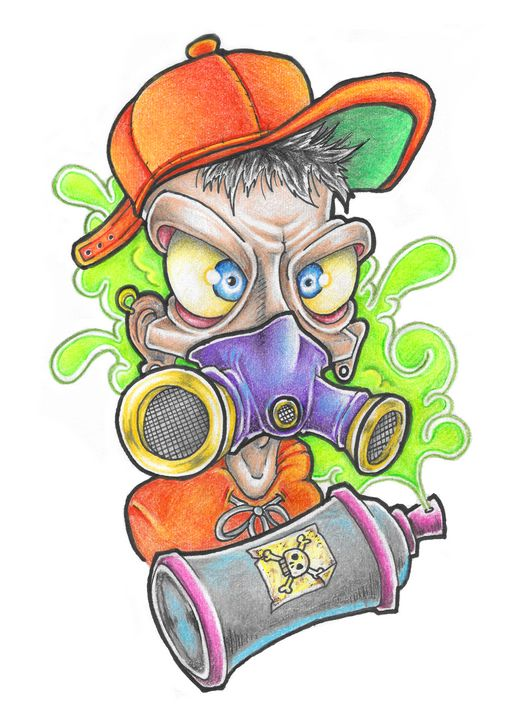 Graffiti Kid - VuduuPrints