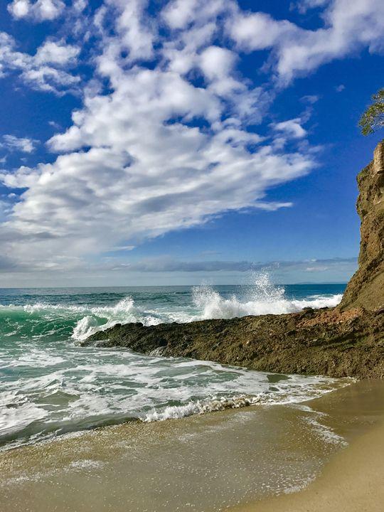 High Tide at Victoria Beach - Laguna Beach Colors
