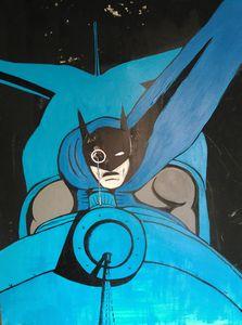 Batman and Bat Jet