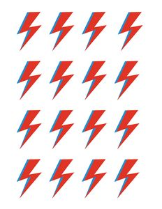 bowie abstract