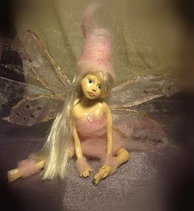 OOAK polymer clay fairy