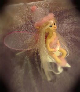 OOAK Polymer clay Art Doll Fairy