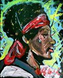 Jimi Hendrix 16x20 MTO Painting