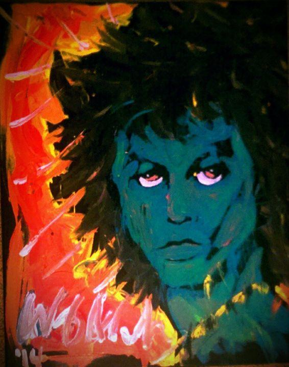 Jim Morrison 16x20 Painting - WesleyWalkerFineArt
