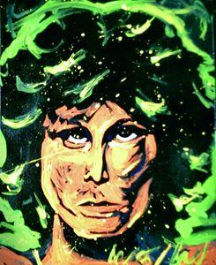 Jim Morrison 16x20 Painting