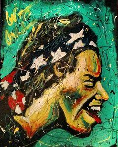 Harry Styles 16x20 Painting