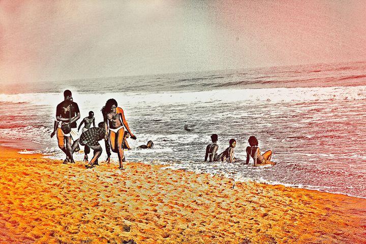 A Sunny day at Grand-Bassam - BongoCity